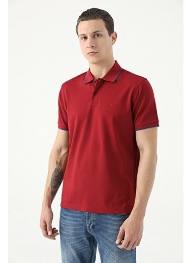 Damat 60/2 Merserize T-Shirt Bordo